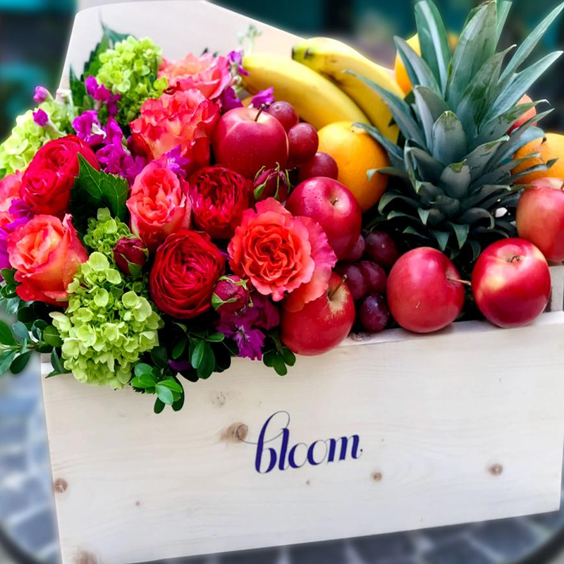 THE BLOOM FRUIT AND FLOWER BOX